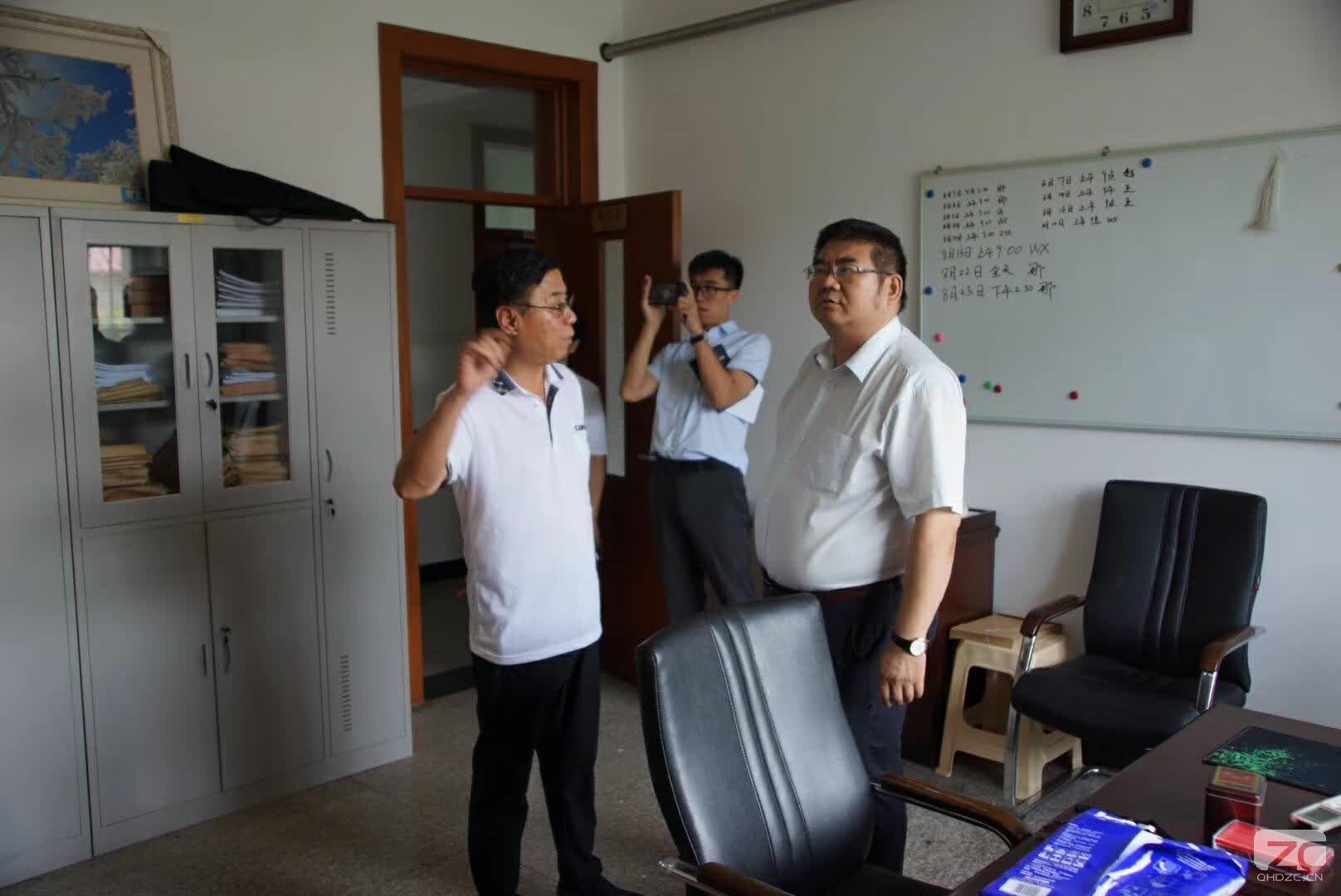 哈尔滨仲裁委常务副主任吴爱民一行来我会考察交流